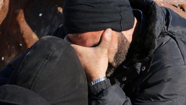 Muž pláče. Ilustrační foto - Sputnik Česká republika