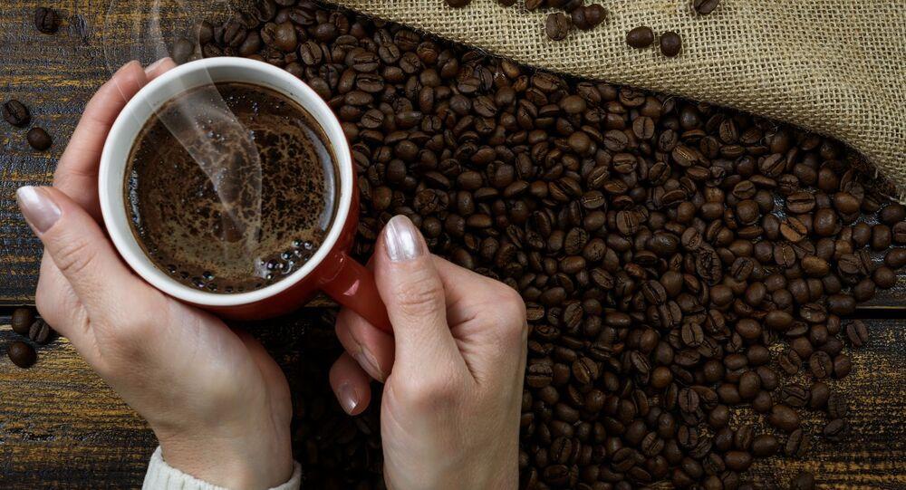 Šálek s kávou