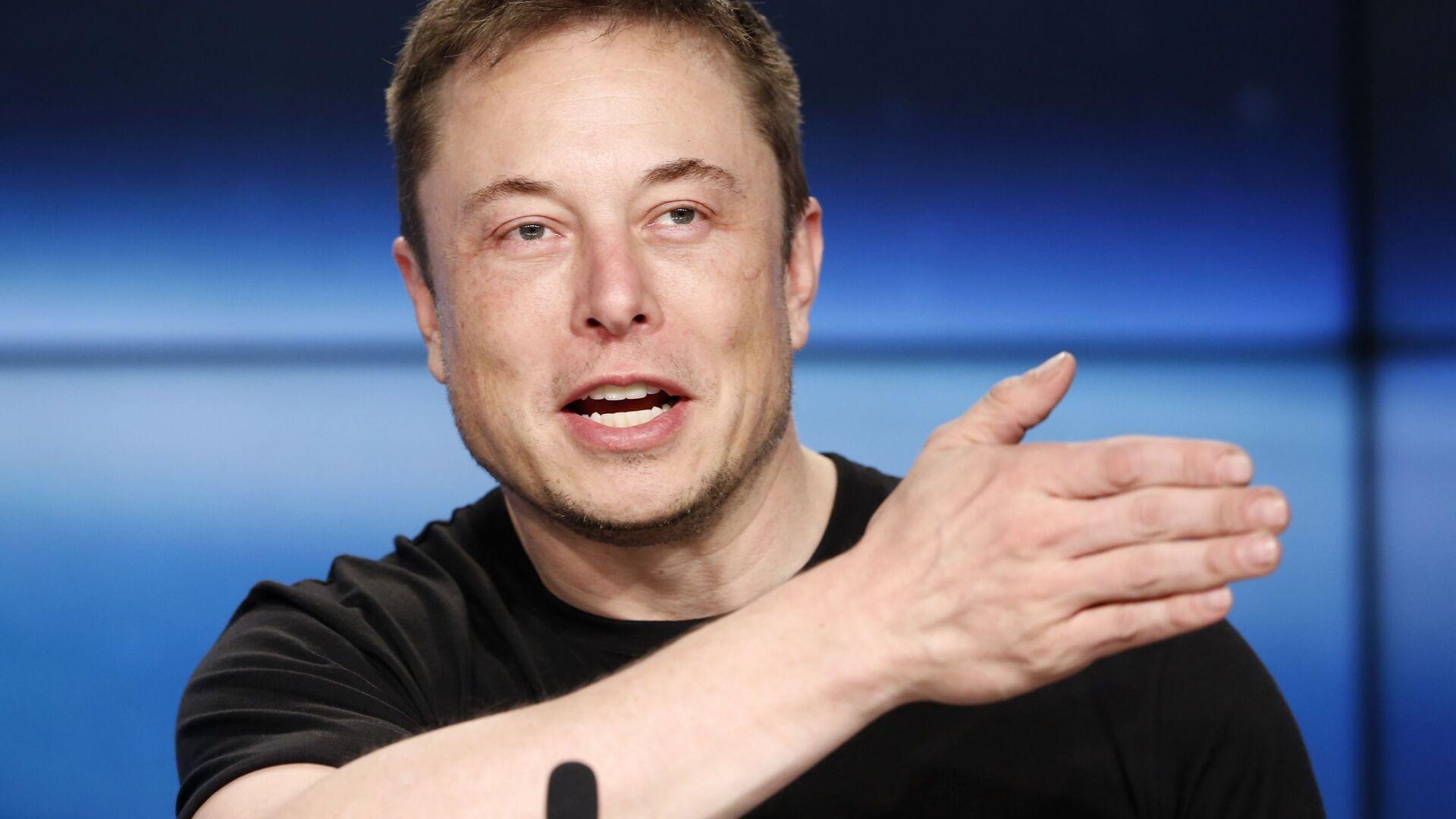 Elon Musk - Sputnik Česká republika, 1920, 15.02.2021