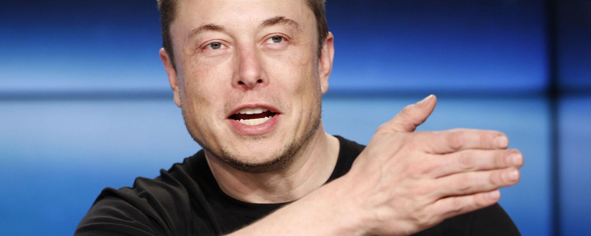 Elon Musk - Sputnik Česká republika, 1920, 22.05.2021