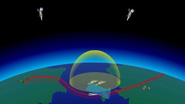 Start nejnovější rakety Avangard, záběr z videa poskytnutého Ministerstvem obrany Ruska - Sputnik Česká republika