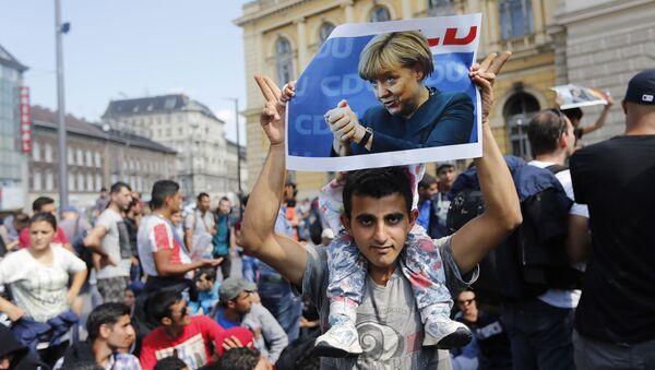 Uprchlík v Německu - Sputnik Česká republika