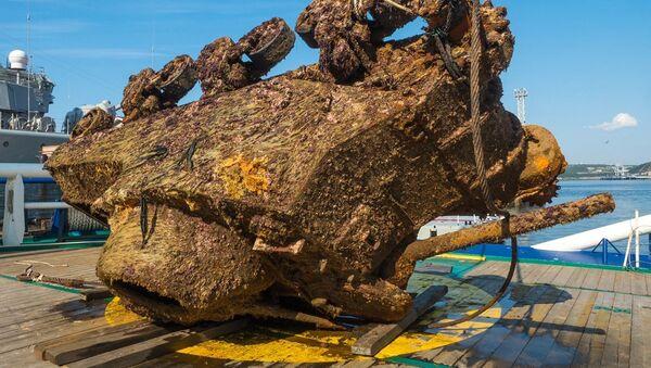 Vyzvednutí tanku M3 Lee ze dna Barentsova moře - Sputnik Česká republika