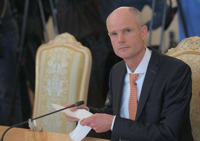 Ministr zahraničí Nizozemska Stef Blok