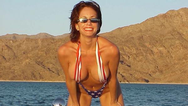Bývalá modelka časopisu Playboy a herečka Robbin Youngová - Sputnik Česká republika