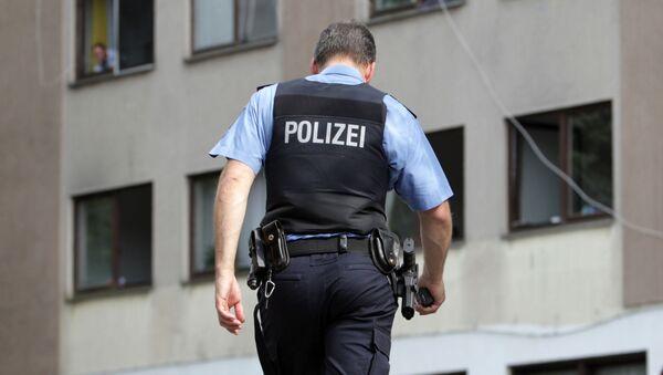 Německý policista. Ilustrační foto - Sputnik Česká republika