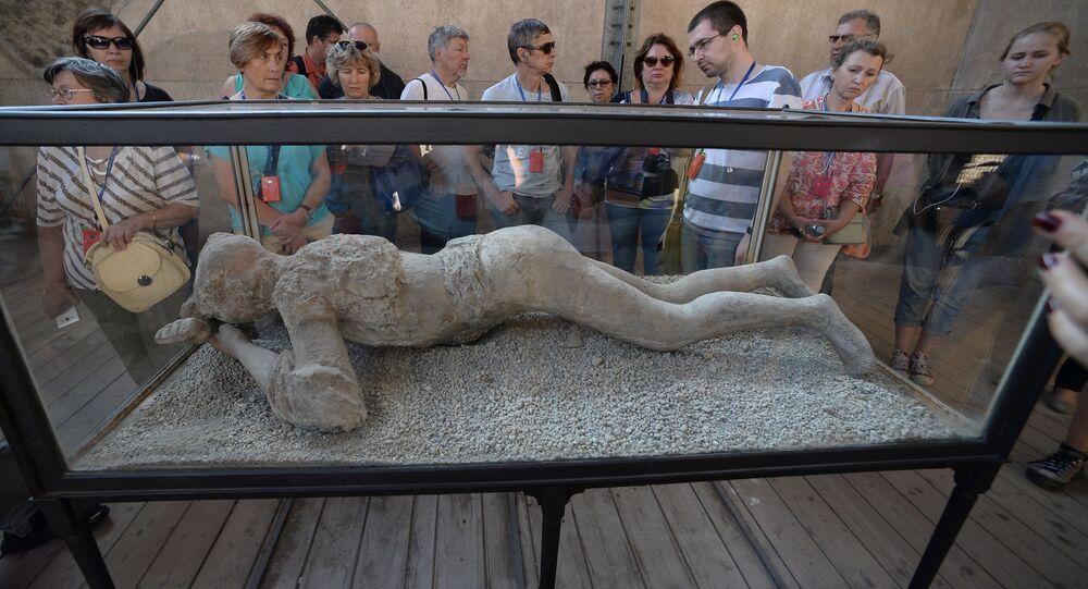 Pompeje, muzeum pod otevřeným nebem