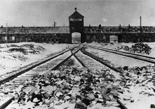 Koncentrační tábor Auschwitz (Osvětim) po osvobození 27. 1. 1945