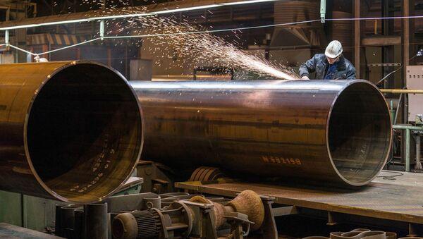 Trubky pro plynovod Severní proud 2 - Sputnik Česká republika