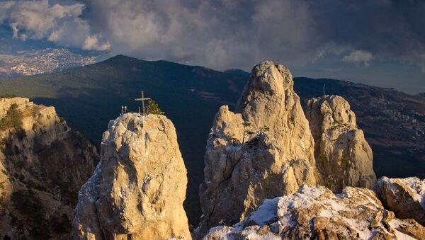 Hora Ai-Petri na Krymu - Sputnik Česká republika