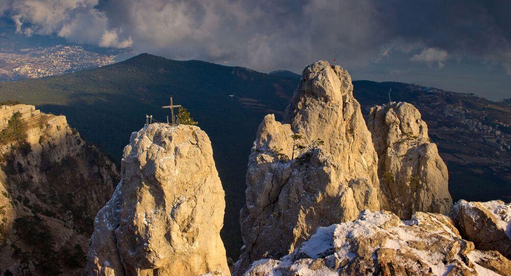 Hora Ai-Petri na Krymu