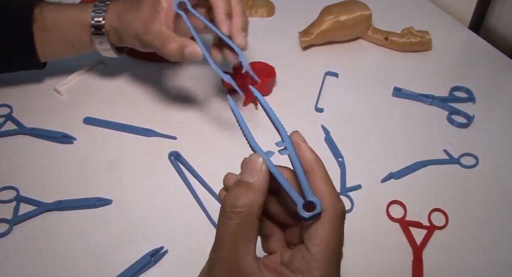 Chirurgické nástroje z 3D tiskárny