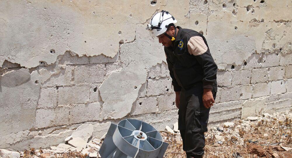Člen Bílých přileb v Sýrii (ilustrační foto)