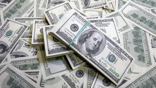 Americké dolary - Sputnik Česká republika