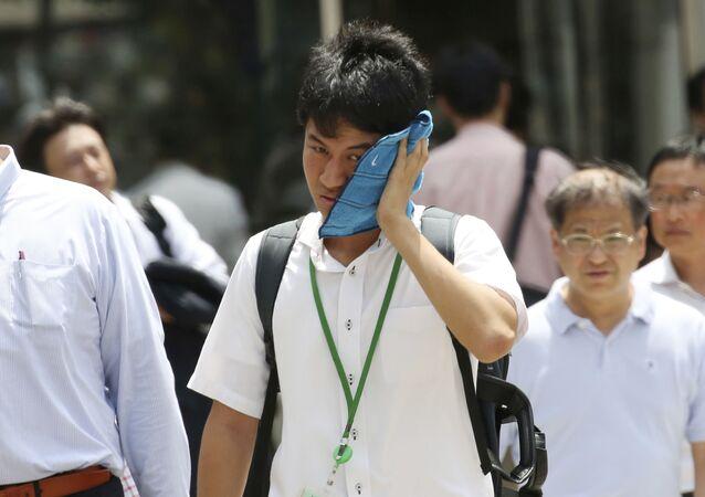 Anomální vedro v Tokiu