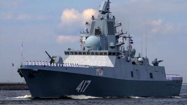 Fregata Admirál Gorškov - Sputnik Česká republika