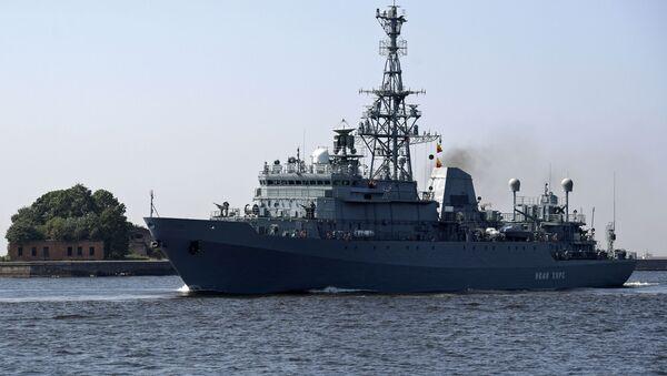 Průzkumná loď Ivan Churs - Sputnik Česká republika