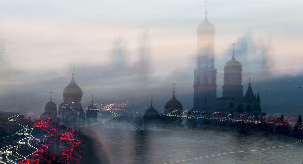 Zvonice Ivana Velikého a kostel sv. Jana Klimaka v Moskvě