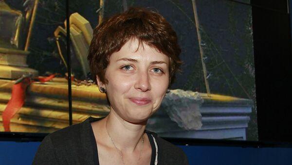 Spisovatelka Anna Starobinec na knižním veletrhu BookExpo America v New Yorku - Sputnik Česká republika