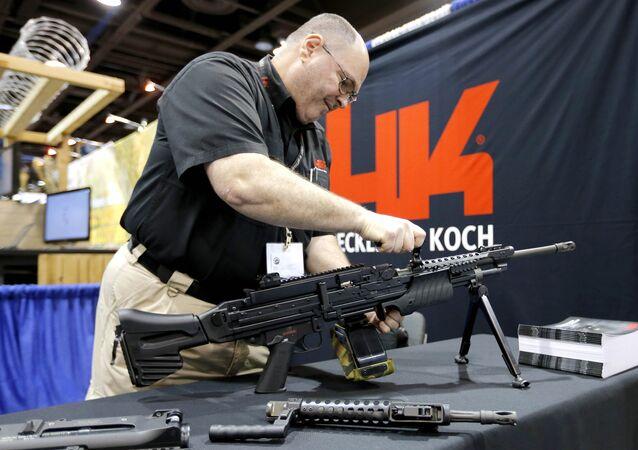 Zbraně Heckler&Koch. Ilustrační foto