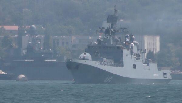 Připrava na Den námořnictva - Sputnik Česká republika