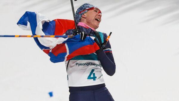 Slovenská biatlonistka Anastasia Kuzminová - Sputnik Česká republika