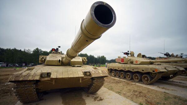 Ohnivý kolotoč. Proč tanky z celého světa dorazily do Moskevské oblasti - Sputnik Česká republika