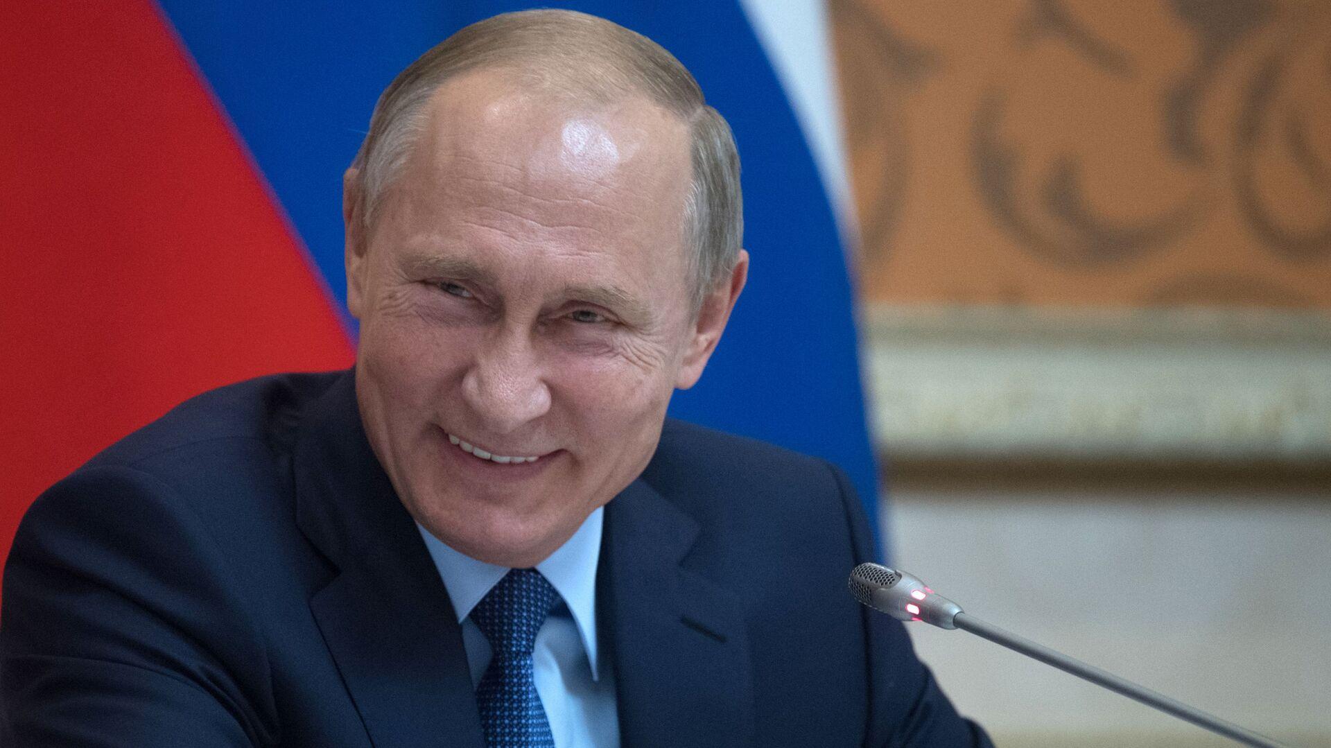Ruský prezident Vladimir Putin - Sputnik Česká republika, 1920, 01.06.2021
