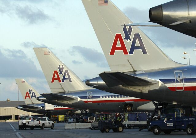 Letadla společnosti American Airlines