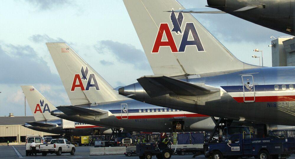 Letadla letecké společnosti American Airlines