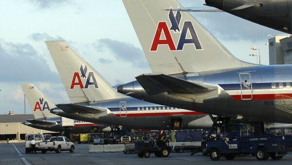Letadla letecké společnosti American Airlines  - Sputnik Česká republika