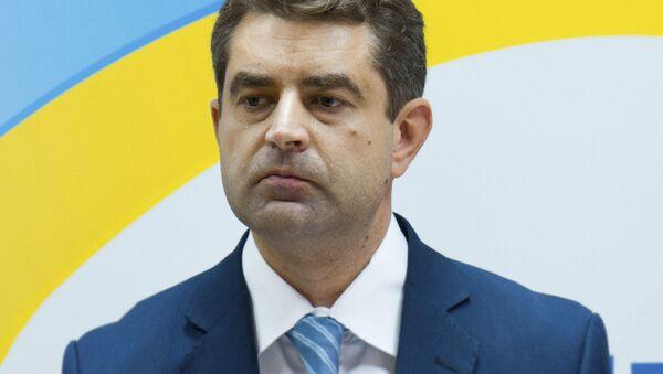 Ukrajinský velvyslanec Jevhen Perebyjnis - Sputnik Česká republika