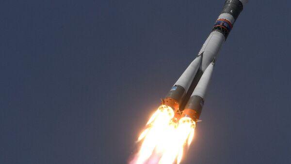 Start Sojuzu MS-09 - Sputnik Česká republika