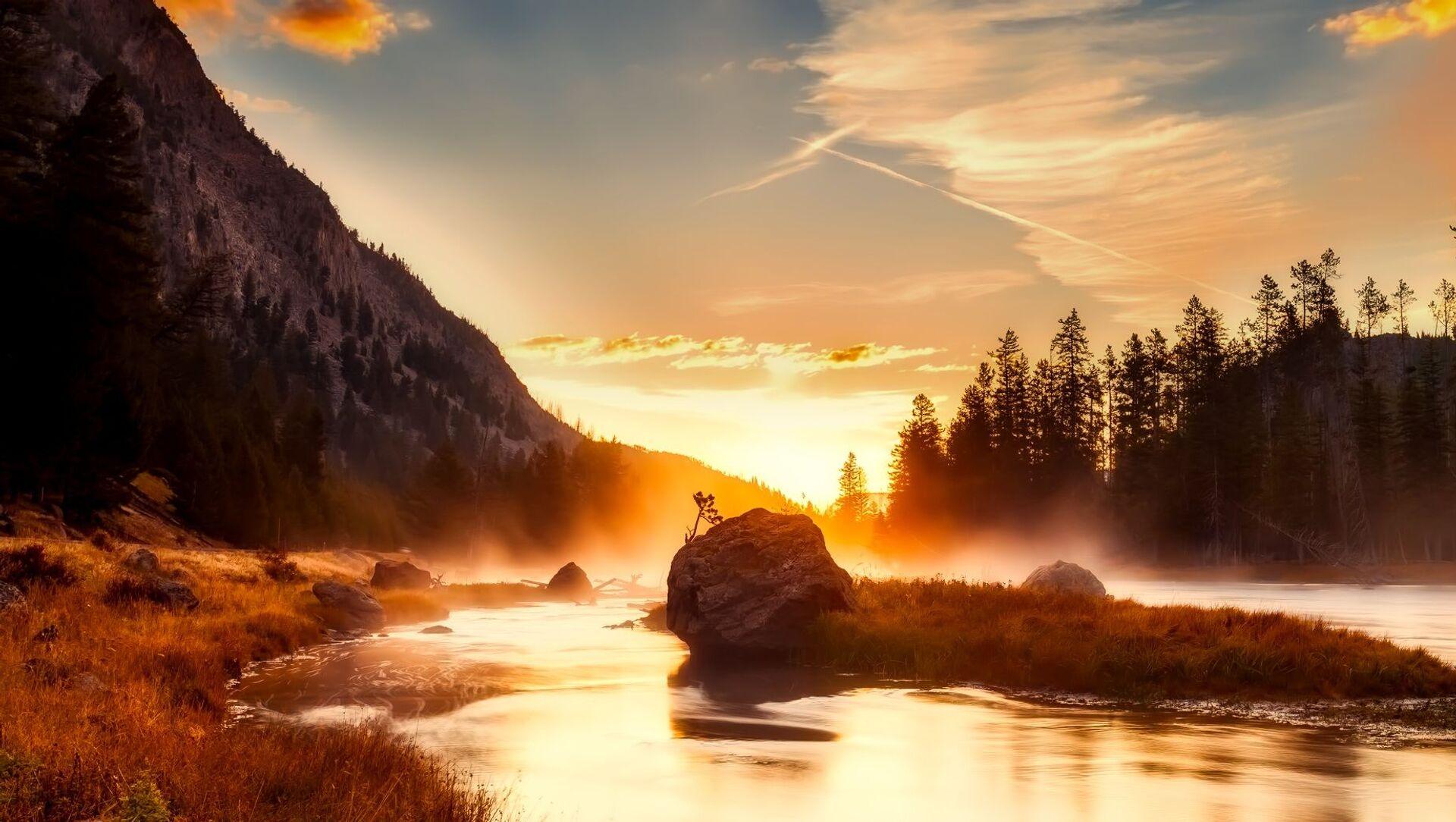 Národní park Yellowstone - Sputnik Česká republika, 1920, 17.03.2021