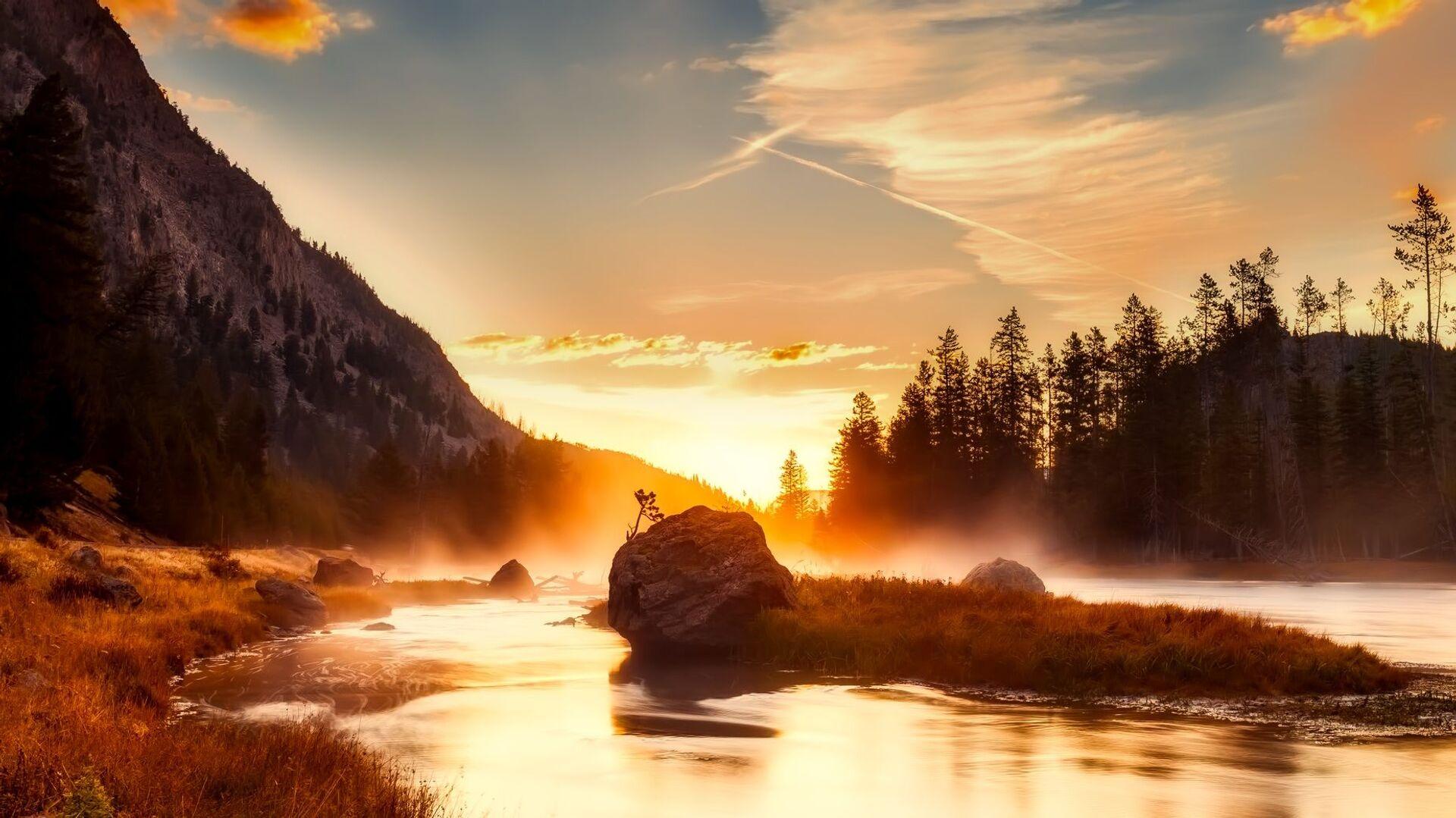 Národní park Yellowstone - Sputnik Česká republika, 1920, 06.07.2021