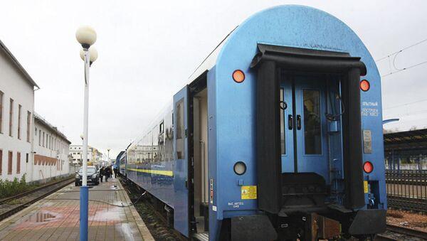 Ukrajinský vlak - Sputnik Česká republika