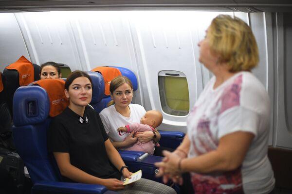Když pracujete v nebi, musíte být na nejvyšší úrovni, aneb jak Aeroflot školí personál - Sputnik Česká republika