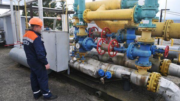 kompresorová stanice na zemní plyn, Ukrajina - Sputnik Česká republika