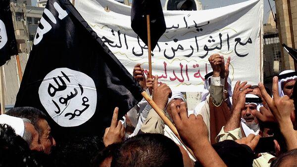Přívrženci ISIL - Sputnik Česká republika