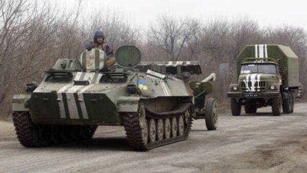 Ukrajinské obrněné transportéry - Sputnik Česká republika