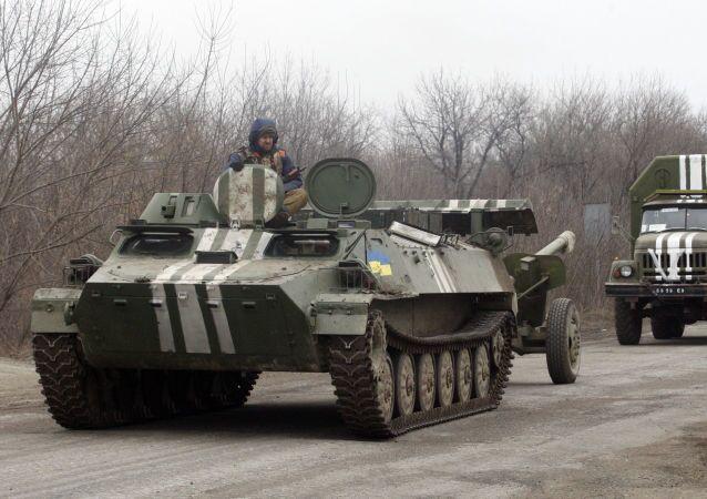 Ukrajinské obrněné transportéry