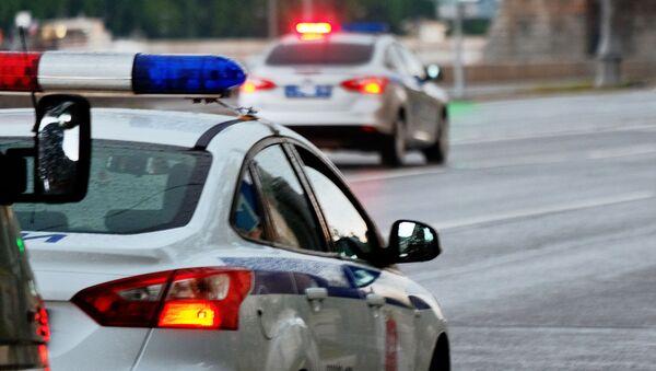 Policejní auto v Moskvě - Sputnik Česká republika
