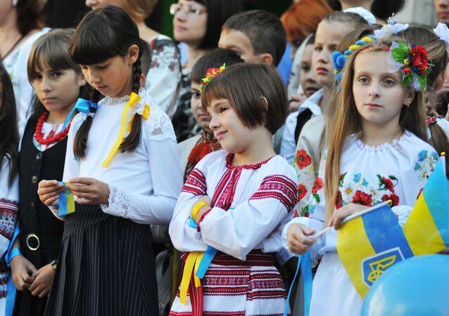 Ukrajinské děti