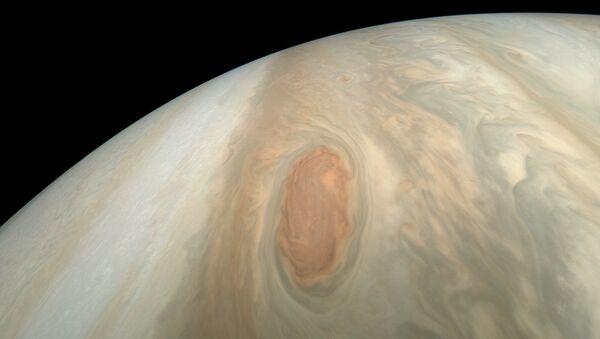 NASA zveřejnila snímky bouře na Jupiteru - Sputnik Česká republika