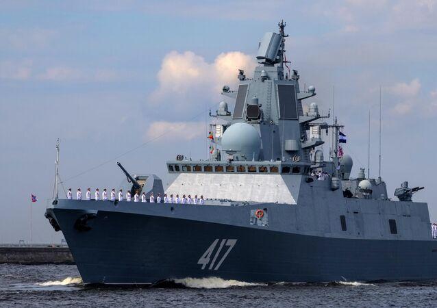 Fregata Admiral Gorškov v Kronštadtu