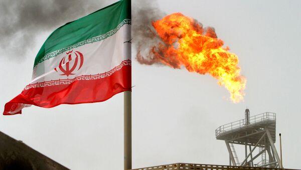 Íránské ropné naleziště Soroush - Sputnik Česká republika