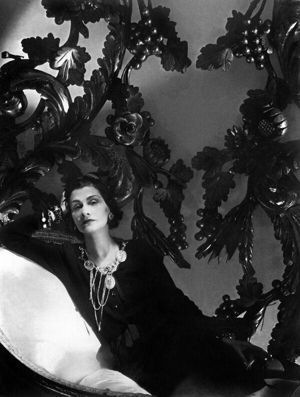 Francouzská návrhářka Coco Chanel - Sputnik Česká republika