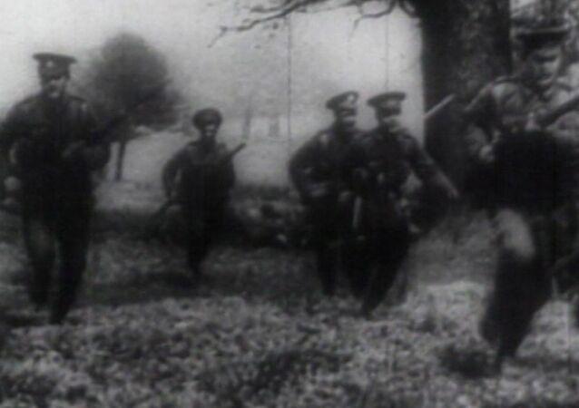 Začátek 1. světové války