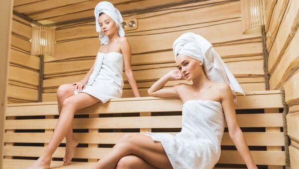 Dívky v sauně - Sputnik Česká republika