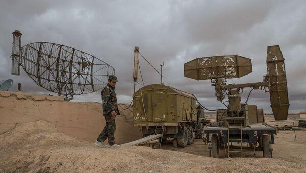 Syrská protivzdušná obrana v provincii Homs. Ilustrační foto - Sputnik Česká republika